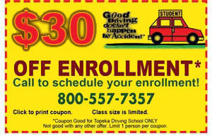 $15 off enrollment coupon