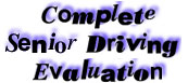 Enter the Complete Driving Evaluation page